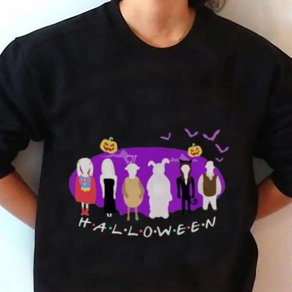 Hot The One with the Halloween Party Halloween Friends shirt