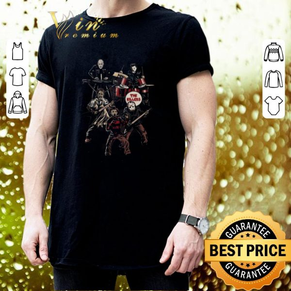 Nice Death Metal The Killers horror movie characters shirt