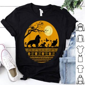 Nice Disney The Lion King Halloween Circle shirt