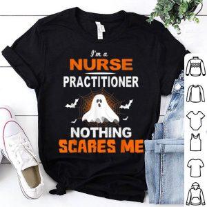Nice Nurse Practitioner Halloween Nursing Gift shirt