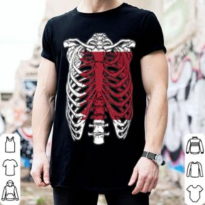 Nice Skeleton Qatar Halloween Qatari shirt