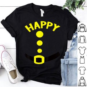 Official Happy Dwarf Halloween Costume Funny Gift Idea Happy Dwarf shirt