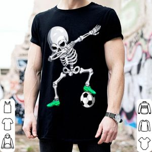 Original Halloween Dabbing Skeleton Apparel, Soccer Player Dab Boys shirt