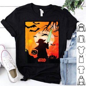 Original Star Wars Yoda Silhouette Halloween shirt