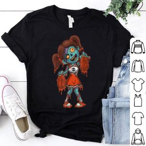 Original Zombie Cheerleader Halloween Trick or Treating Gift shirt