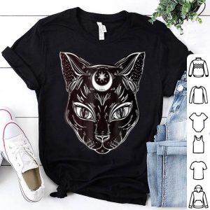 Premium Black Cat Halloween Boho - Gothic Witchcraft Tattoo shirt