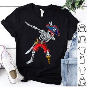 Premium Dabbing Skeleton Pirate Halloween Kids Boys Men Gift shirt