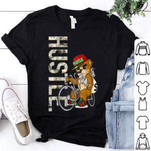 Premium Hustle Teddy on Low Rider Hip Hop Birthday Christmas Gift shirt