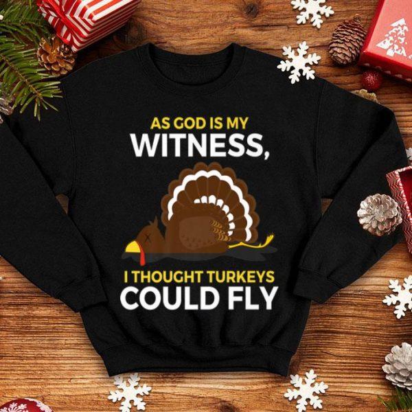 Premium Thanksgiving Turkeys Can Fly Dead Crashed shirt