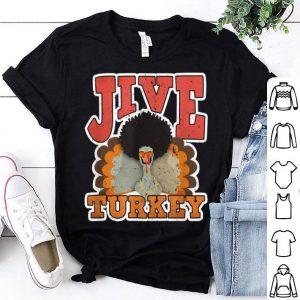 Top Jive Turkey - Retro 1970s Gifts - Vintage 70s Thanksgiving shirt