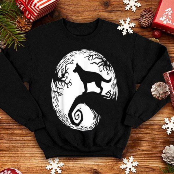 Top Spooky German Shepherd Halloween shirt