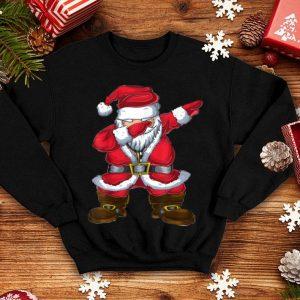 Awesome Christmas Boys Kids Men Xmas Gifts Dabbing Santa Claus sweater