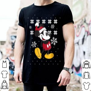 Awesome Disney Mickey Mouse Christmas Sweater Pose shirt