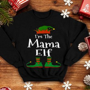 Awesome I'm The Mama Elf Family Matching Funny Christmas Mom Gift shirt