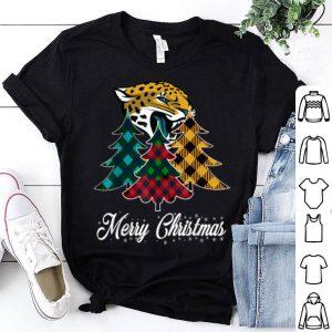 Awesome Merry Christmas Tree Football Team Jacksonville-Jaguar Fan shirt
