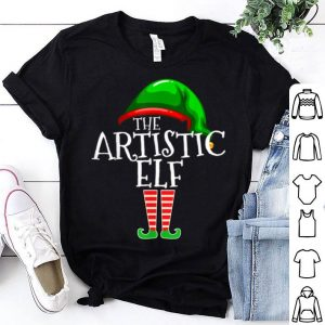 Awesome The Artistic Elf Group Matching Family Christmas Gift Art shirt