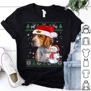 Beautiful Beagle Dog Ugly Christmas Funny Puppy Dog Christmas Gift shirt