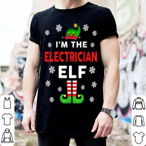 Beautiful Mens I Am The Electrician Elf Christmas Sweater Gift Funny shirt