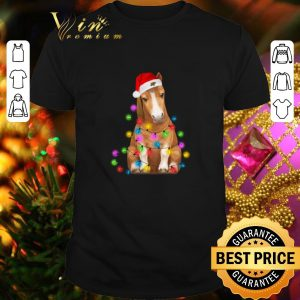 Cheap Christmas horse merry and bright shirt