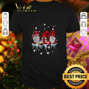 Cheap Gnomes knitting Christmas shirt
