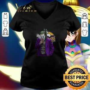 Cheap Joker Joaquin Phoenix Minnesota Vikings shirt