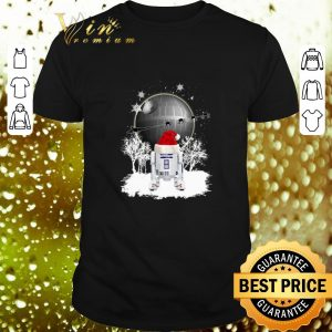 Cheap R2D2 Santa Christmas Death Star Star Wars shirt