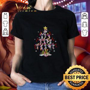 Funny Ballet shoes Christmas tree shirt