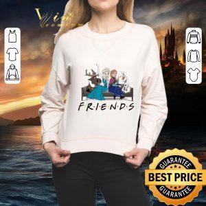 Funny Disney Frozen characters Friends shirt