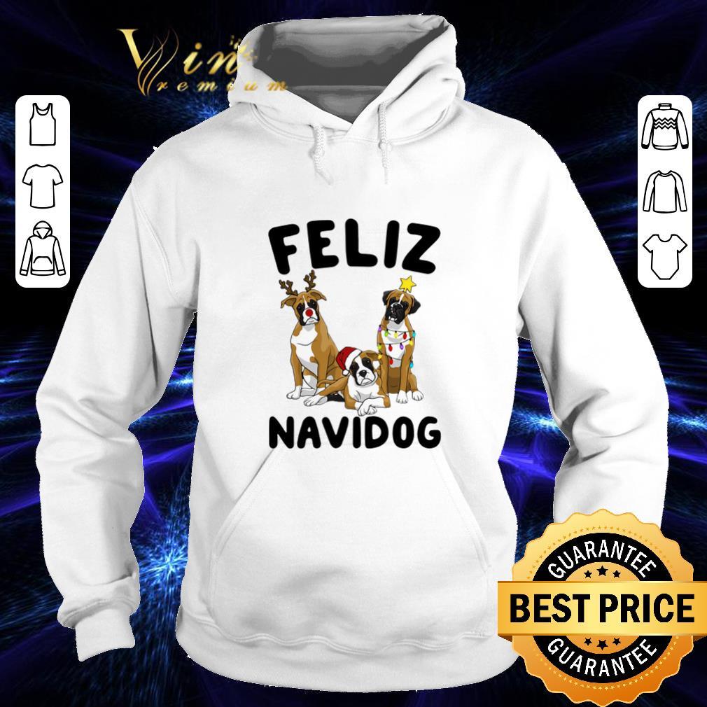 Funny Feliz Navidog Boxer Christmas shirt 4 - Funny Feliz Navidog Boxer Christmas shirt
