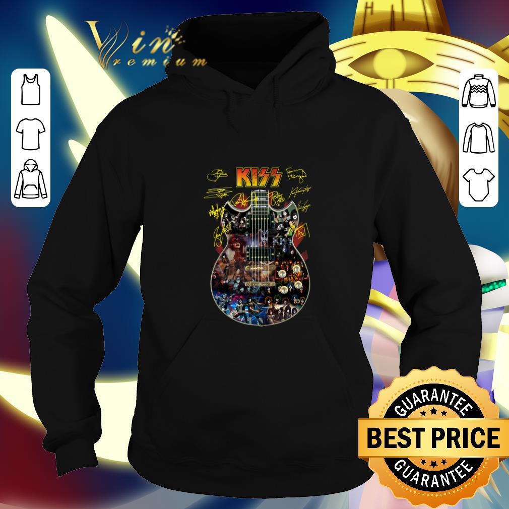 Funny Kiss signatures guitarist shirt 4 - Funny Kiss signatures guitarist shirt