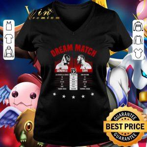 Funny The Dream Match Generico Vs Sami shirt
