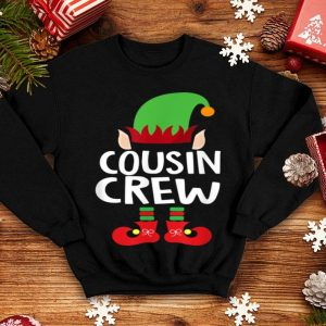 Hot Cousin Crew ELF Gift Family Matching Christmas Ugly shirt