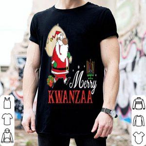 Hot Merry Kwanzaa Santa Ugly Christmas Sweater Style shirt