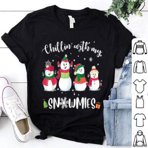 Nice Chillin' With My Snowmies Christmas shirt