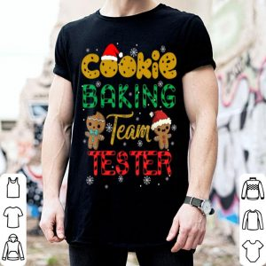 Nice Cookie Baking Team Tester Gingerbread Christmas shirt