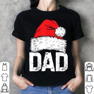 Nice Dad Christmas Santa Family Matching Pajamas Papa Tee shirt