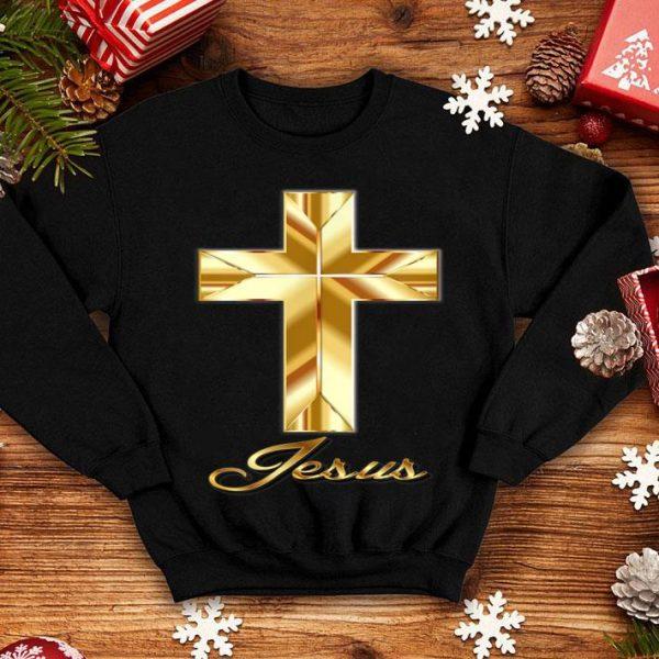 Nice Jesus and Cross Christian faith shirt