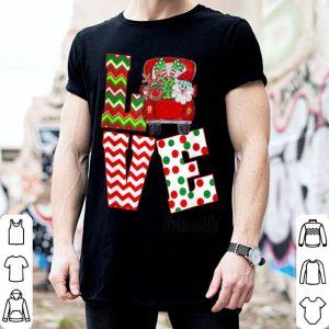 Nice Love Nana Life Christmas Santa Claus Hat Christmas shirt