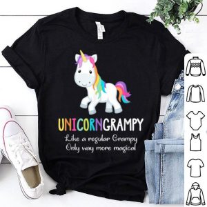 Nice Unicorn Grampy Cute Magical Funny Christmas Gift shirt