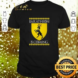 Official House Baratheon Is Coming GOT Christmas shirt