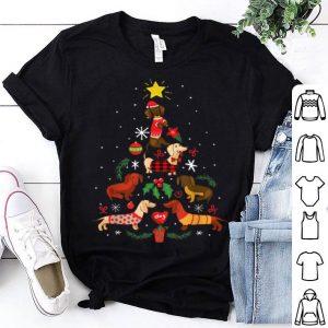 Original Funny Dachshund Christmas Tree Ornament Decor Gift shirt