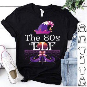 Original The 80s Elf Gift Xmas Matching Retro Elf Christmas shirt