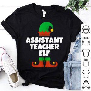 Premium Assistant Teacher Elf Christmas Funny sweater