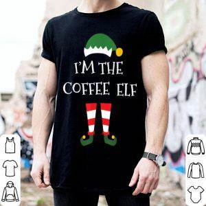 Premium Coffee Elf Gift Funny Matching Family Group Christmas shirt