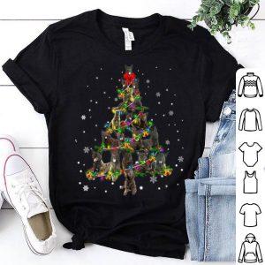 Premium Cute Dutch Shepherd dog Christmas Tree gift decor Xmas tree shirt