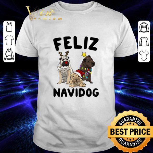 Premium Feliz Navidog Shar Pei Christmas shirt