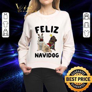 Premium Feliz Navidog Shar Pei Christmas shirt 1