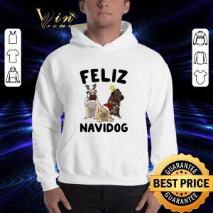 Premium Feliz Navidog Shar Pei Christmas shirt 2