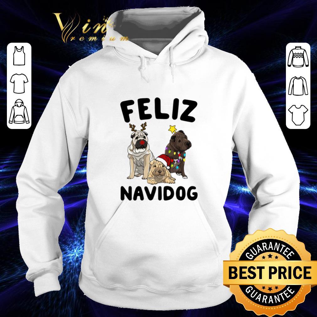 Premium Feliz Navidog Shar Pei Christmas shirt 4 - Premium Feliz Navidog Shar Pei Christmas shirt