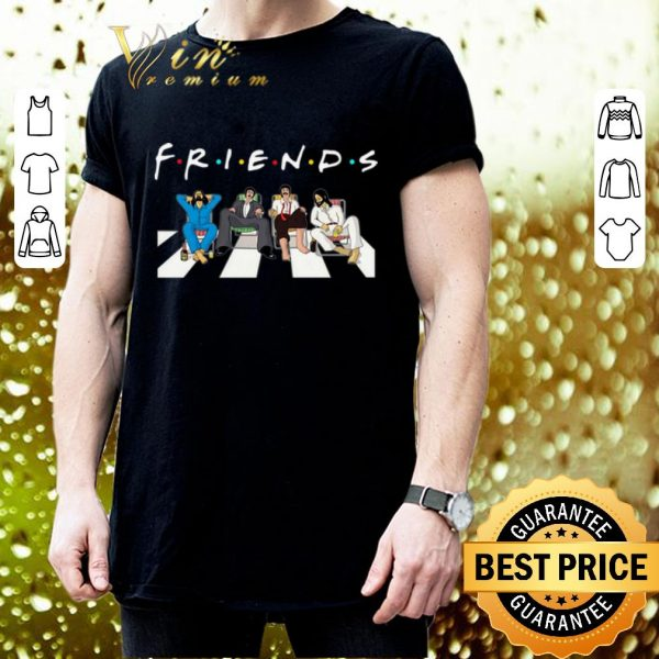 Premium Friends The Beatles Abbey Road shirt